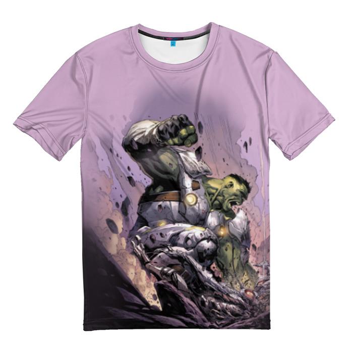Collectibles T-Shirt Green Hulk Rage Using Armor