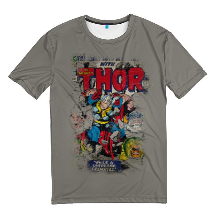 Merch T-Shirt The Mighty Thor Retro Comic Books Inspired