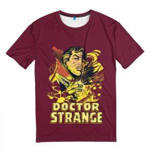 Collectibles T-Shirt Vintage Doctor Strange Red