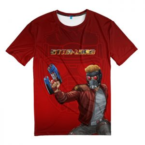 Merchandise T-Shirt Star-Lord In Action Guardians Of The Galaxy