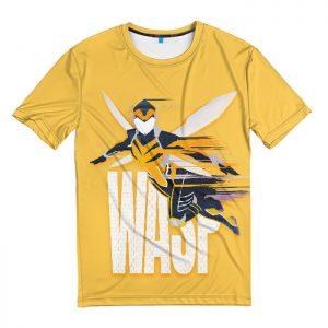 Merch T-Shirt The Wasp Hope Van Dyne Movie Ant Man