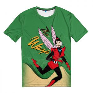 Merch T-Shirt Wasp Retro Comic Books Ant-Man And The Wasp