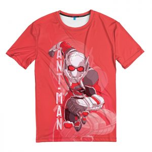Merch T-Shirt Ant-Man And The Wasp Red