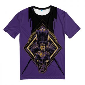Collectibles T-Shirt Black Panther Ronin Avengers Endgame