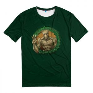 Merchandise T-Shirt Groot Badge Crest Guardians Of The Galaxy