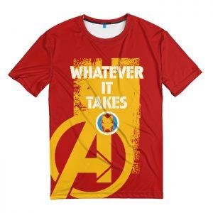Collectibles T-Shirt Iron Man Whatever It Takes Avengers Endgame