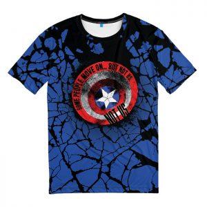 Merchandise T-Shirt Captain America Sheild Not Us