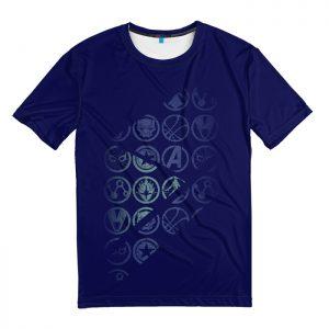 Collectibles T-Shirt Logos Avengers Endgame