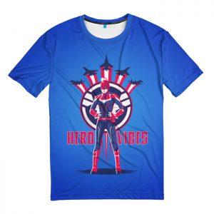Merchandise T-Shirt Hero Vibes Captain Marvel