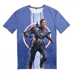 Merchandise T-Shirt Captain America Avengers Endgame