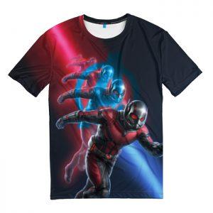 Merch T-Shirt Ant Man Nano Battle