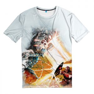Merchandise T-Shirt Ultron Captain America