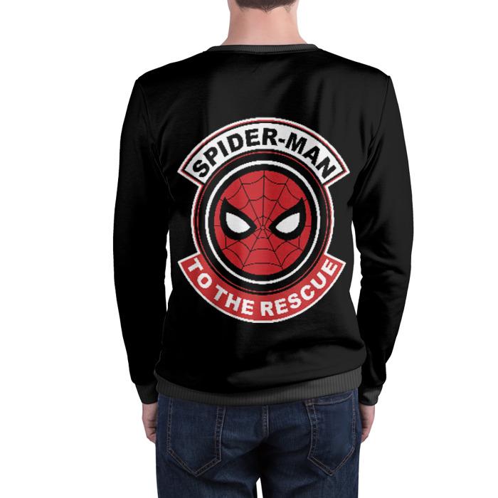 Collectibles Sweatshirt Spider-Man Black Head Logo