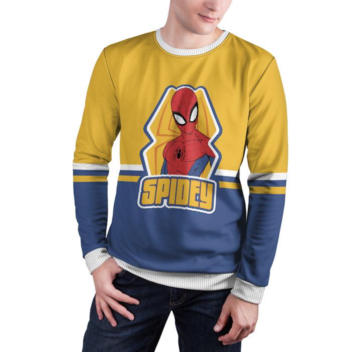 Merchandise Sweatshirt Spidey Spider-Man Yellow Blue