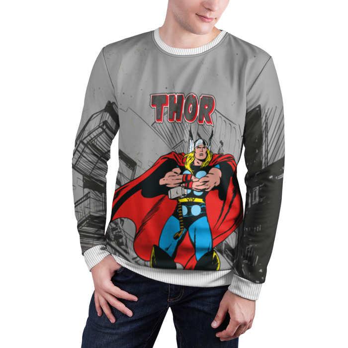 Merch Sweatshirt Thor Comic Books