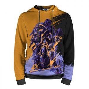 Collectibles Hoodie Avengers Endgame 2019 Purple Orange