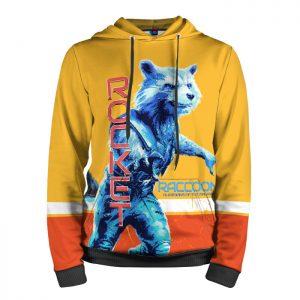 Merchandise Hoodie Rocket Raccoon Guardians Of The Galaxy