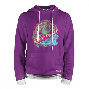 Collectibles Hoodie Black Panther Purple Cloth
