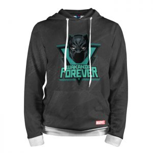 Collectibles Hoodie Wakanda Forever Black Panther