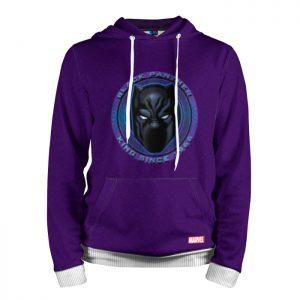 Merch Hoodie Black Panther Purple T'Challa
