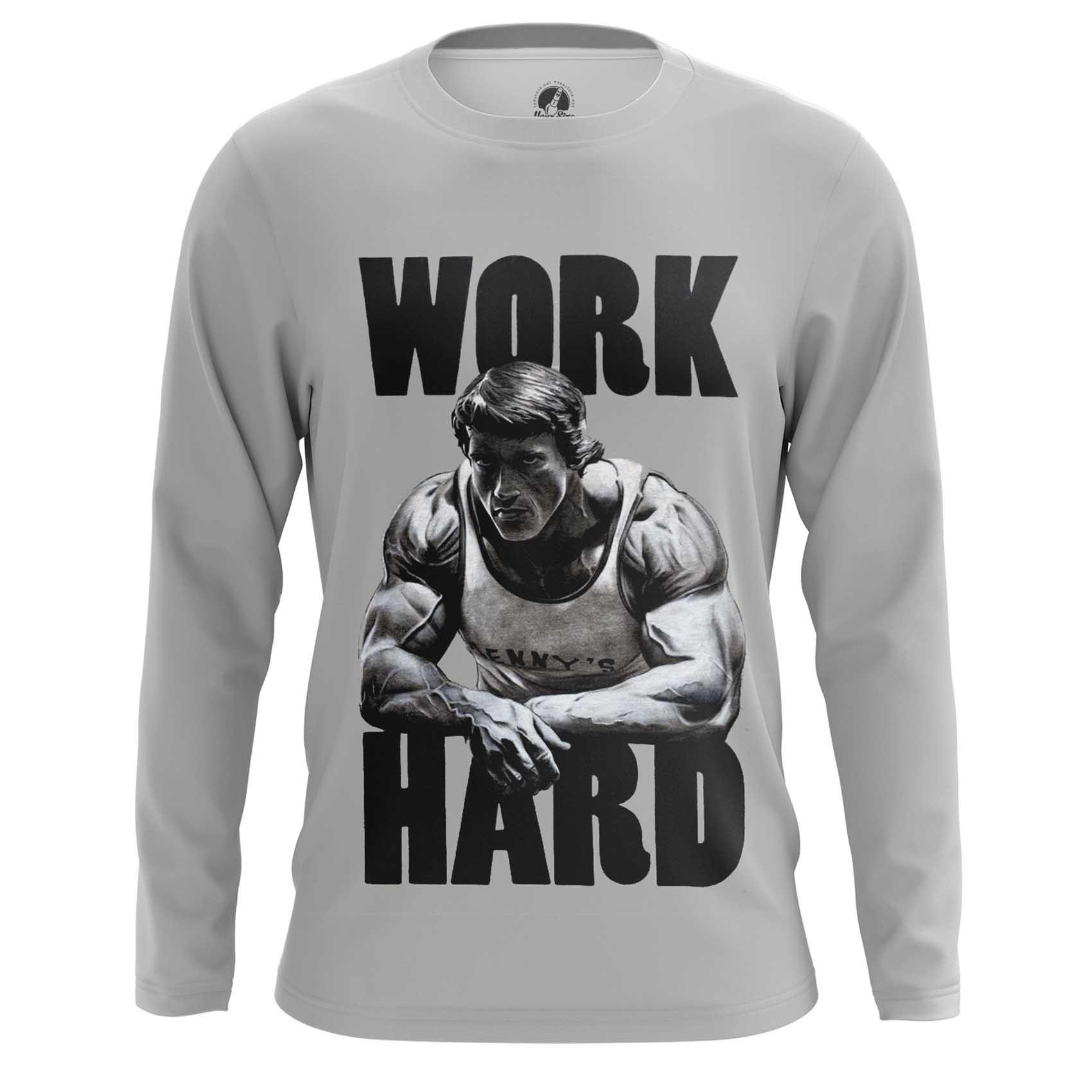 Merchandise Raglan Work Hard Bodybuilding