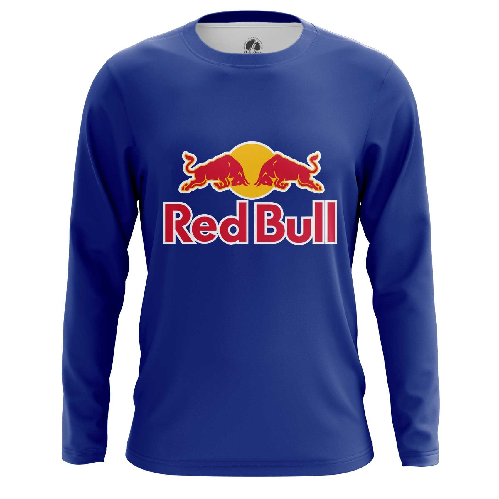 Merch Raglan Red Bull Red Blue Logo