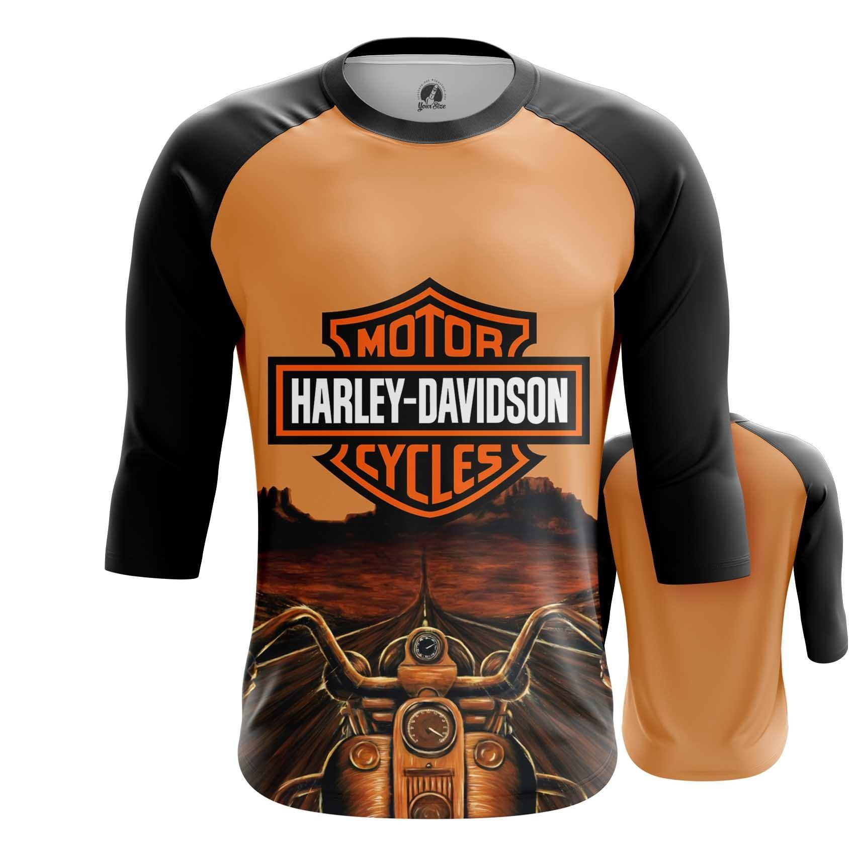 Merch Raglan Harley Davidson Classic Logo