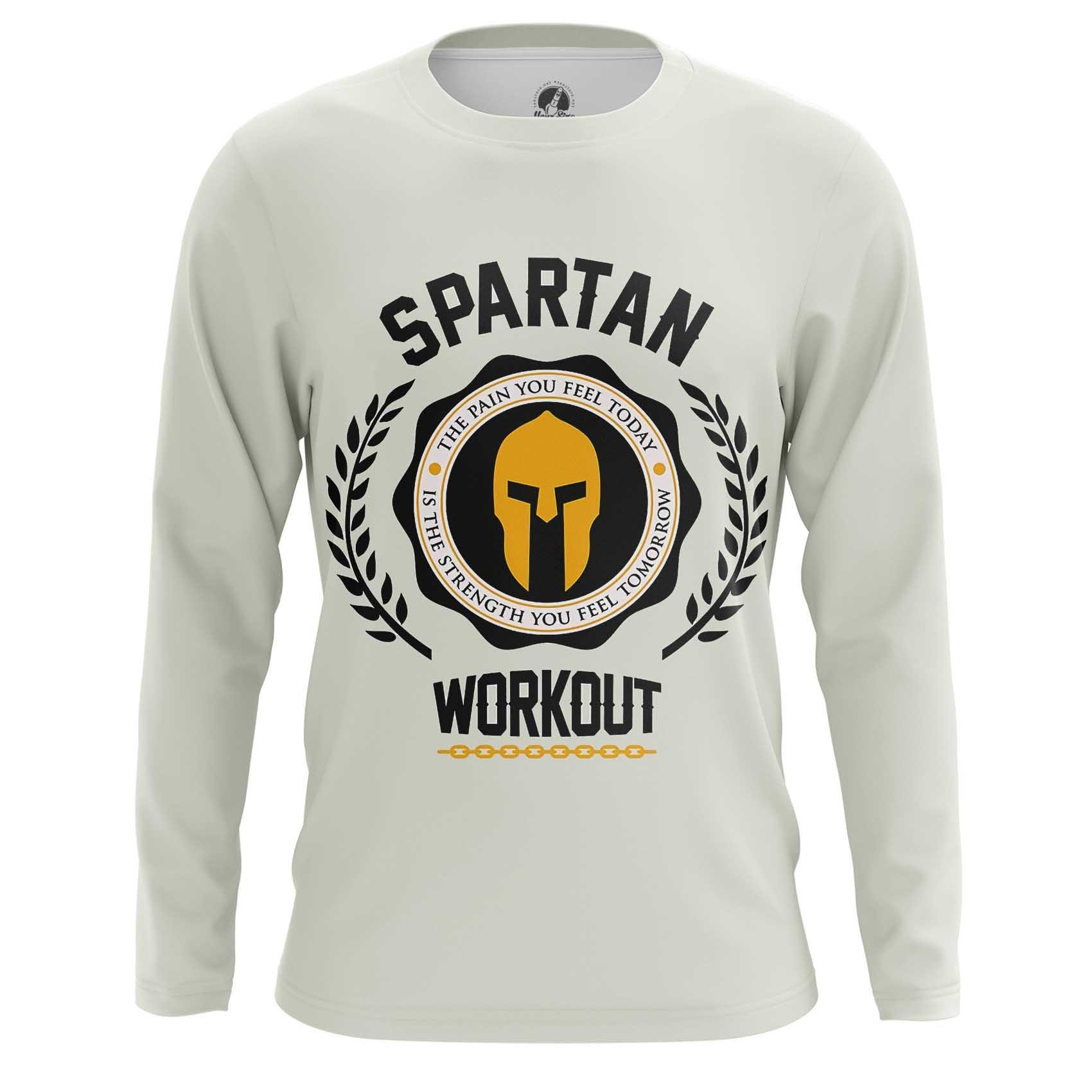 Merchandise Raglan Spartan Workout