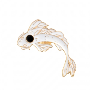 Merch Pin Dream Fish Enamel Brooch