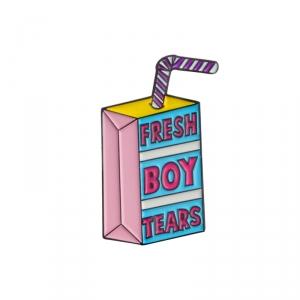 Collectibles Pin Fresh Boy Tears Enamel Brooch