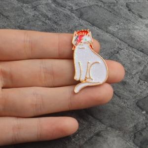 Merchandise Pin David Bowie Cat Enamel Brooch