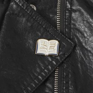 Merchandise Pin I Read Banned Books Enamel Brooch
