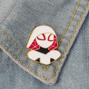 Merch Pin Gwen Stacy Spider-Man Enamel Brooch