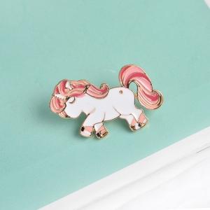 Merchandise Pin Pony Unicorn Enamel Brooch