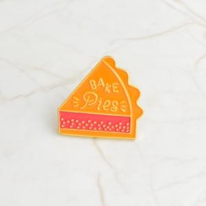 Merchandise Pin Bake Pies Food Enamel Brooch