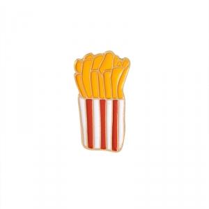 Merchandise Pin French Fries Food Enamel Brooch