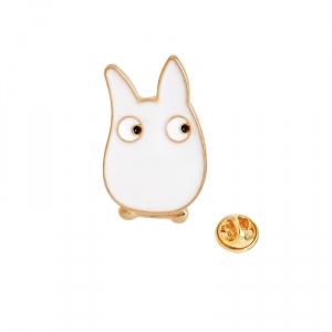 Merchandise Pin White My Neighbor Totoro Enamel Brooch
