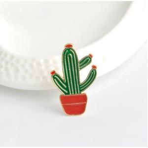 Merchandise Pin Cactus In A Pot Enamel Brooch