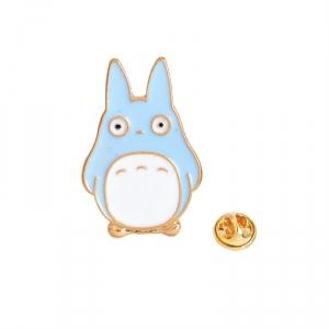 Merchandise Pin Blue My Neighbor Totoro Enamel Brooch