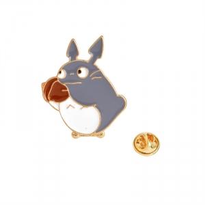Merchandise Pin My Neighbor Totoro With Acorn Enamel Brooch