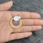 Merchandise Pin Unicorn Cat Enamel Brooch