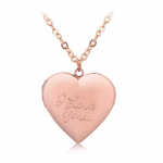 Merchandise Necklace I Love You Pink Heart