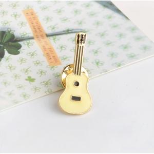 Merchandise Pin Pale Guitar Enamel Brooch
