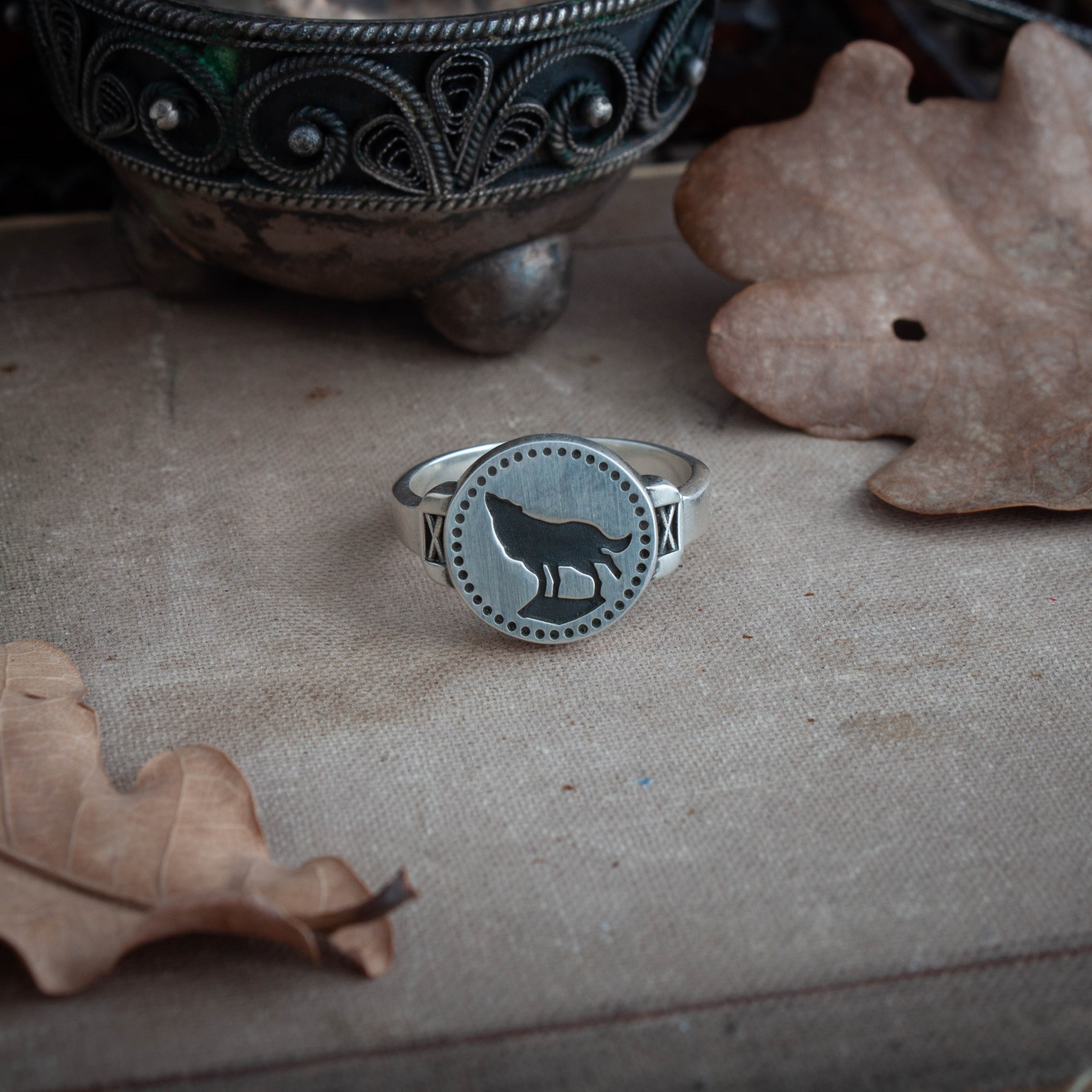 Collectibles Wolf Ring Dark Souls Game Jewellery