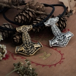 Collectibles Thor'S Hammer Mjolnir Necklace Norse Mythology