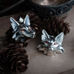 Collectibles Fox Medallion School Of Fox Necklace Witcher