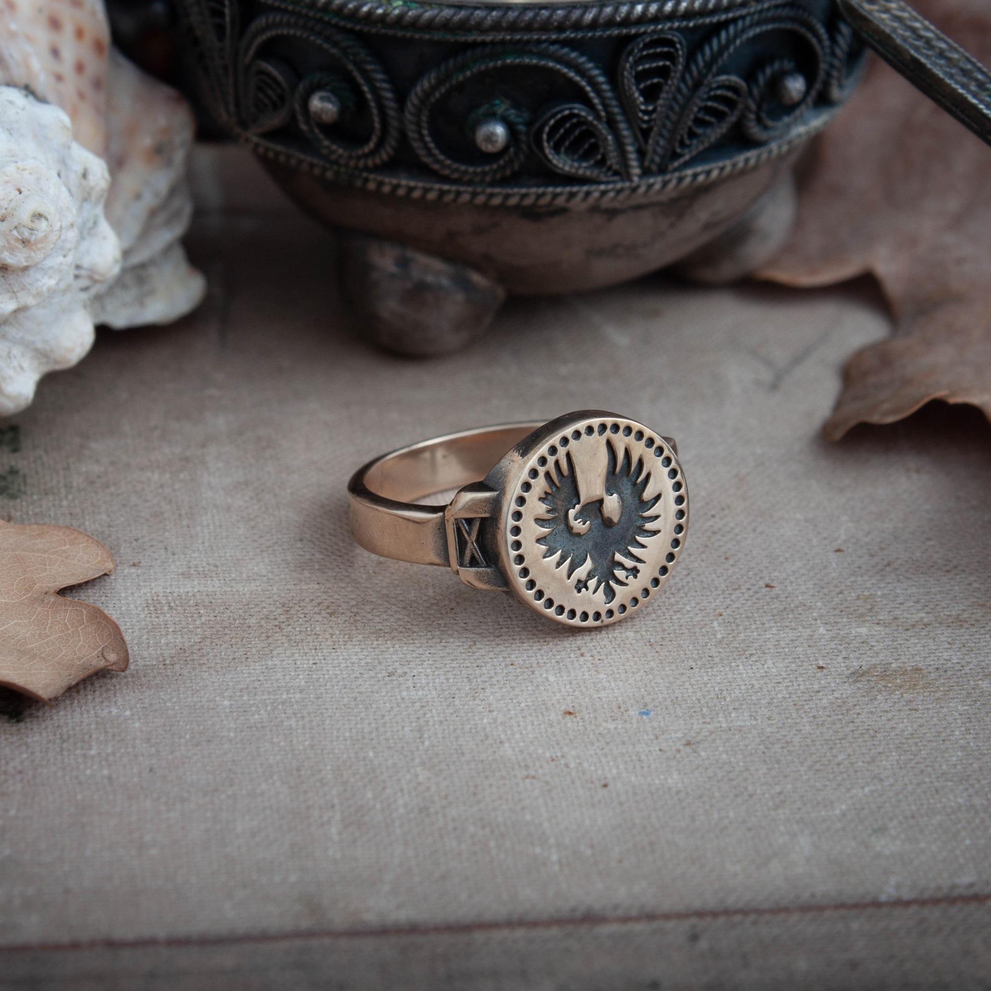 Merchandise Hawk Ring Dark Souls Game Jewellery