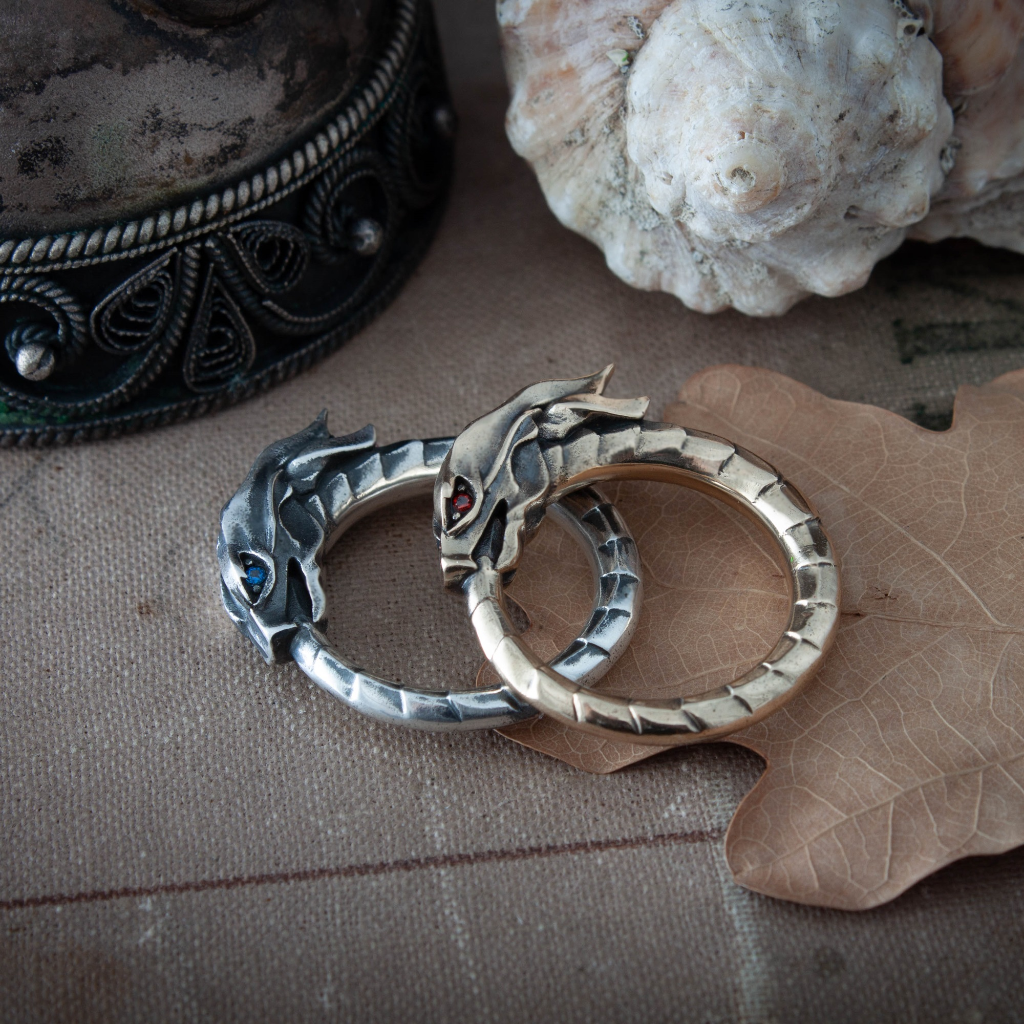 Merch Ouroboros Ring Serpent Mythology Snake