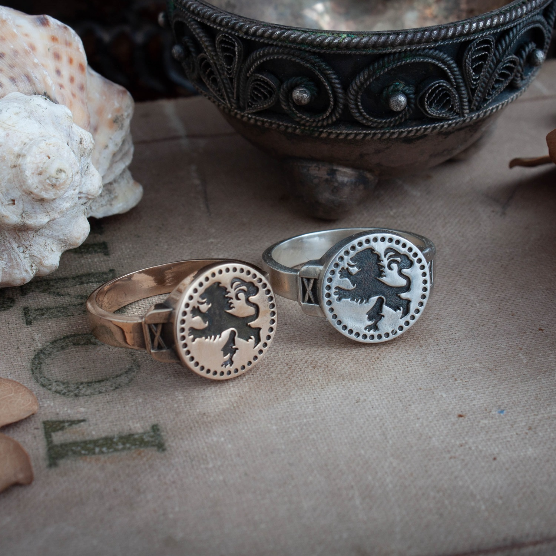Merch Leo Ring Dark Souls Game Jewellery