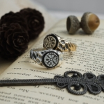 Merch Vegvisir Ring Vikings Compass Norse Mythology